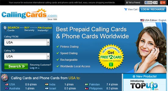 callingcardscom - Best International Calling Cards