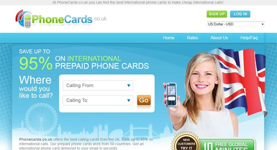 phonecardscouk - Best International Calling Cards
